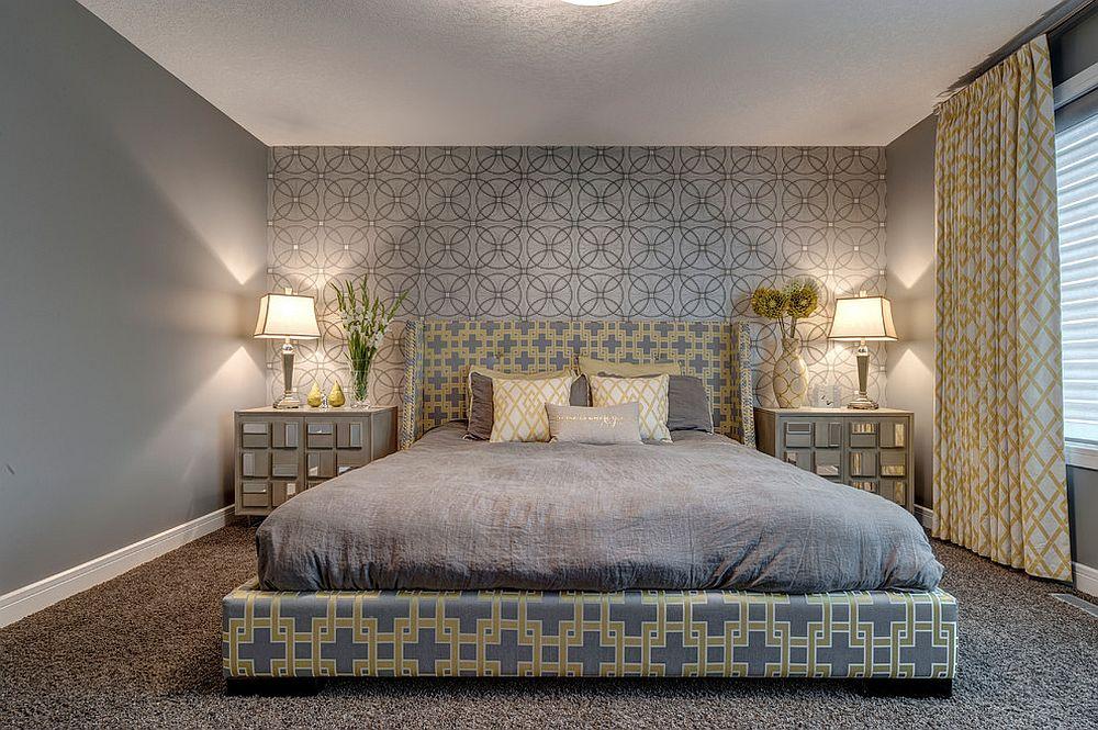 Круги над кроватью