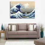 Море на картине