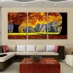 Осень на картине