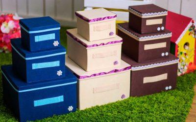 Способы создания и декора коробок для хранения