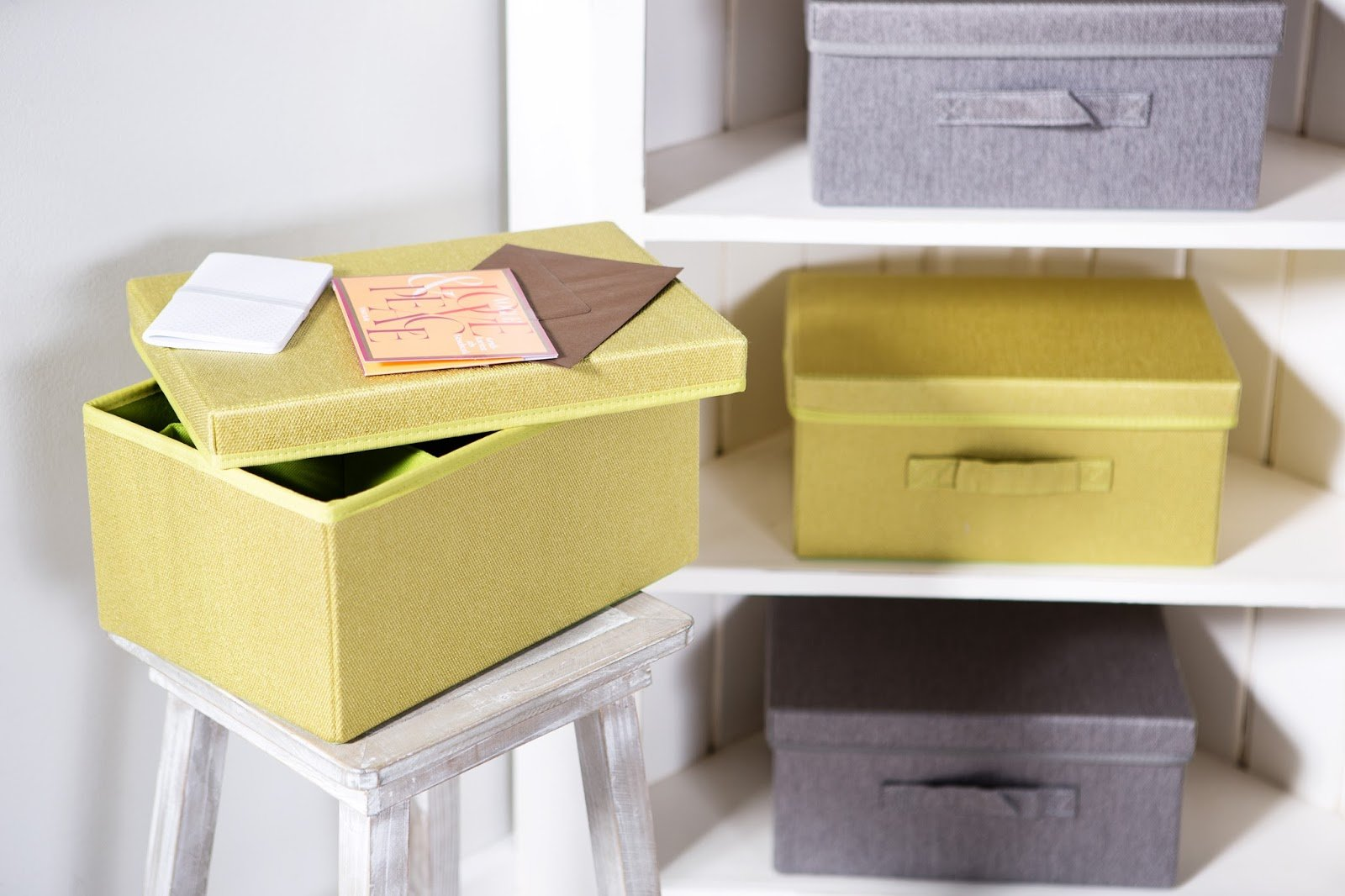 Вариант декорирования картонных коробок