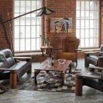 Loft style armchair