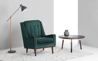 Кресло в интерьере — 75 примеров моделей
