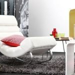 Armchair in the interior in modern style