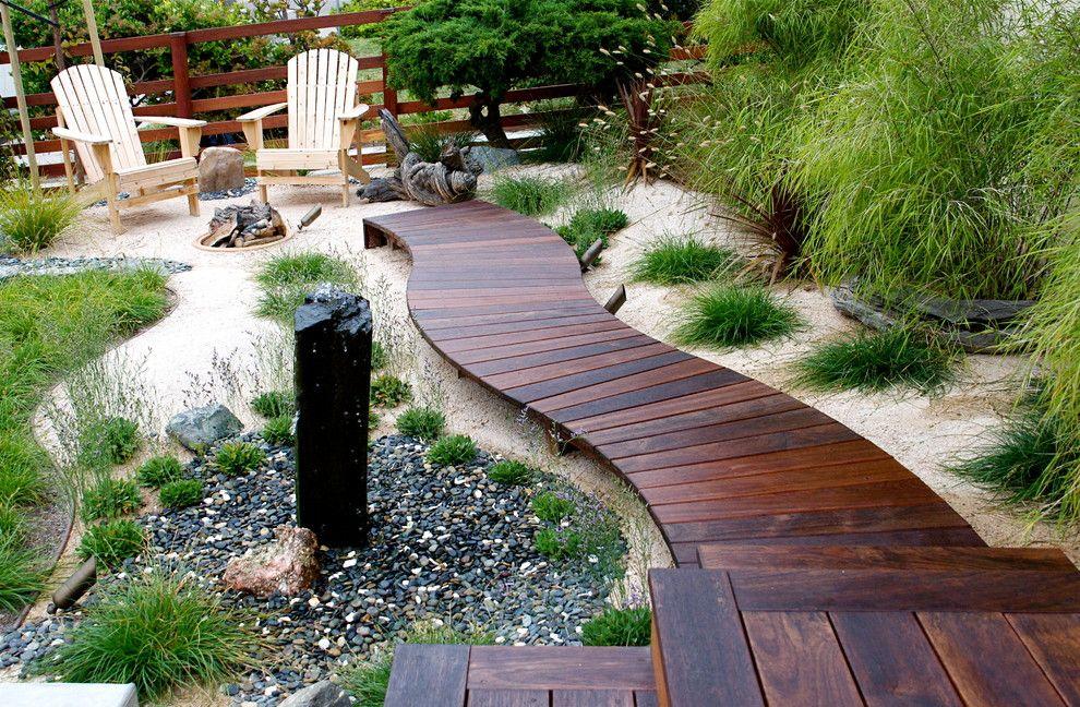 Садовая дорожка из террасной доски