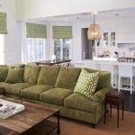 Оливковый диван