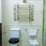 Provence style in toilet design