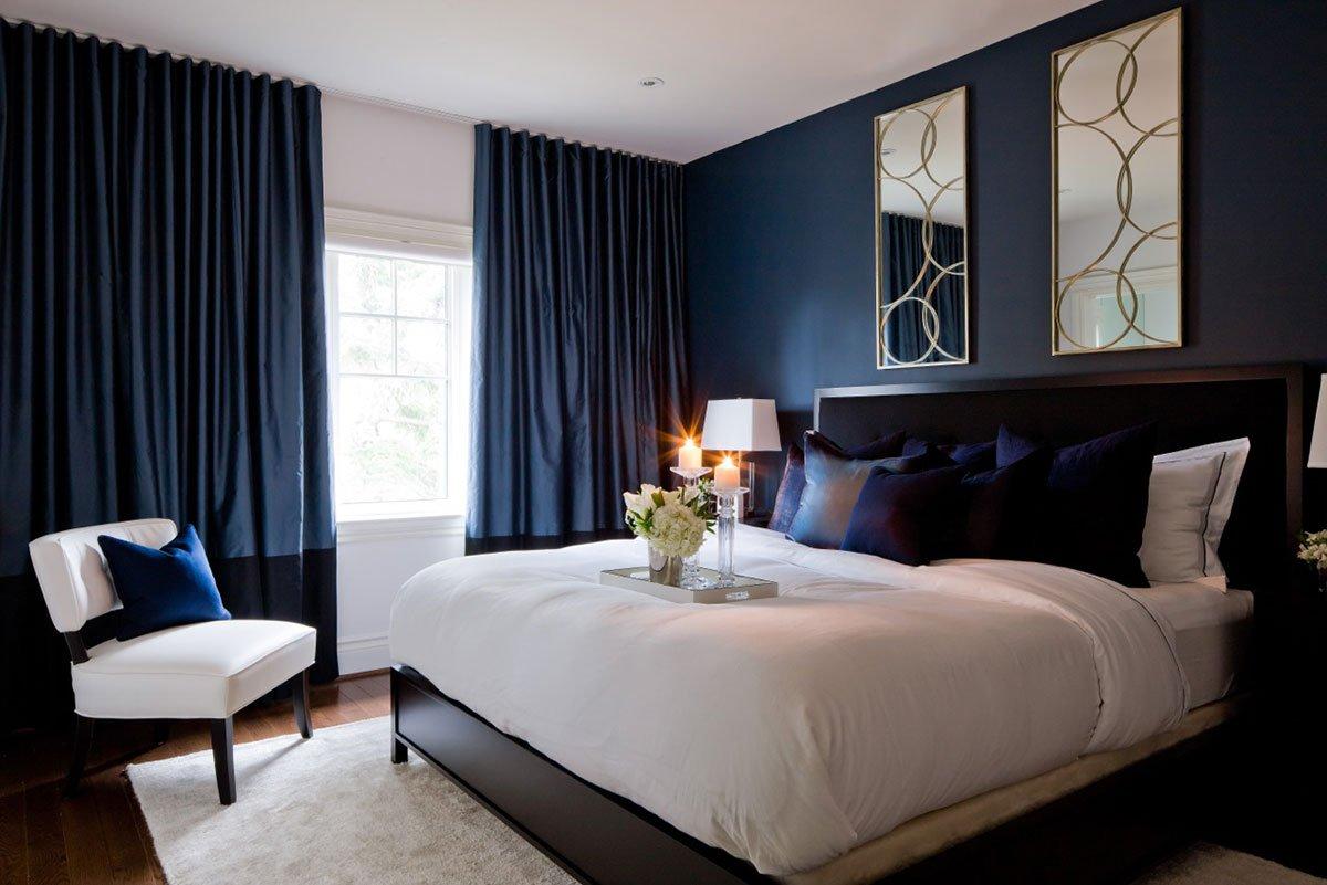 предлагает всем дизайн спальни серо синий фото следует промойте