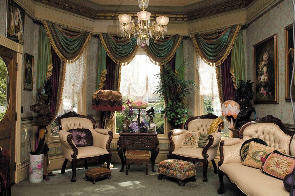 Интерьер в викторианском стиле