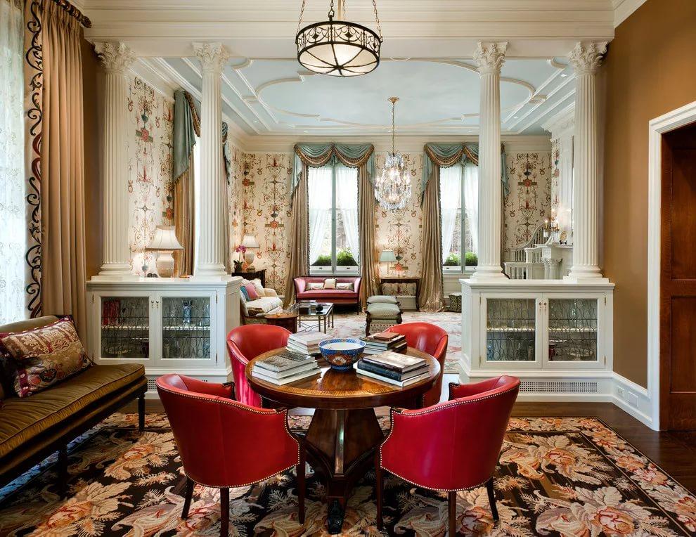 Оформление комнат в викторианском стиле