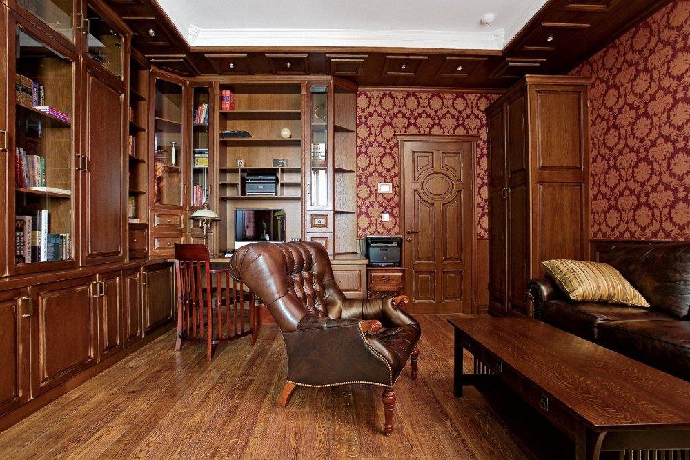 Кабинет в викторианском стиле