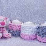 Мягкая игрушка и свечи