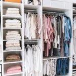 Прямой гардероб