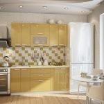Золотой цвет на кухне