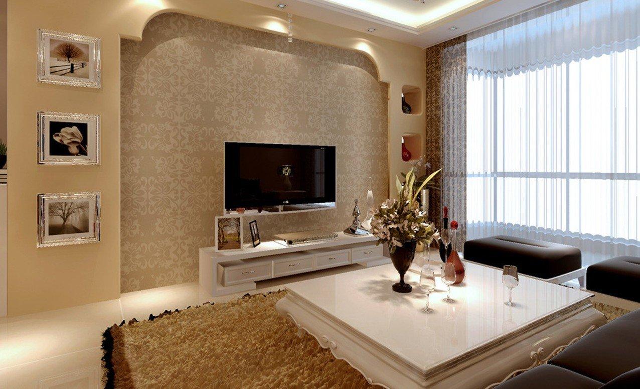 Золотой в дизайне гостиной
