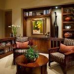 Подушки на креслах