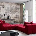 Модульный диван в интерьере