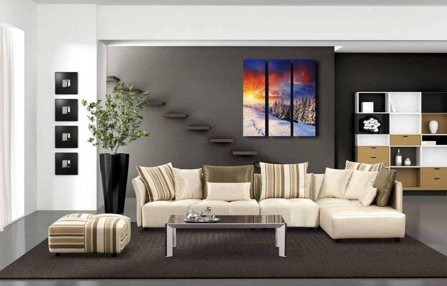 Цвет дивана в интерьере