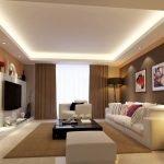 Натяжной подсвеченный потолок