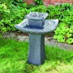 Небольшой прямоугольный фонтан