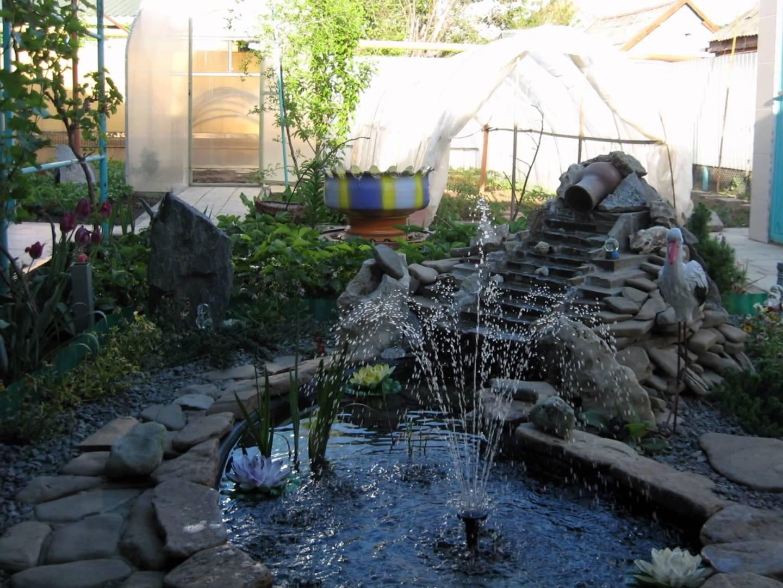 Фонтаны водопады сада своими руками фото 891