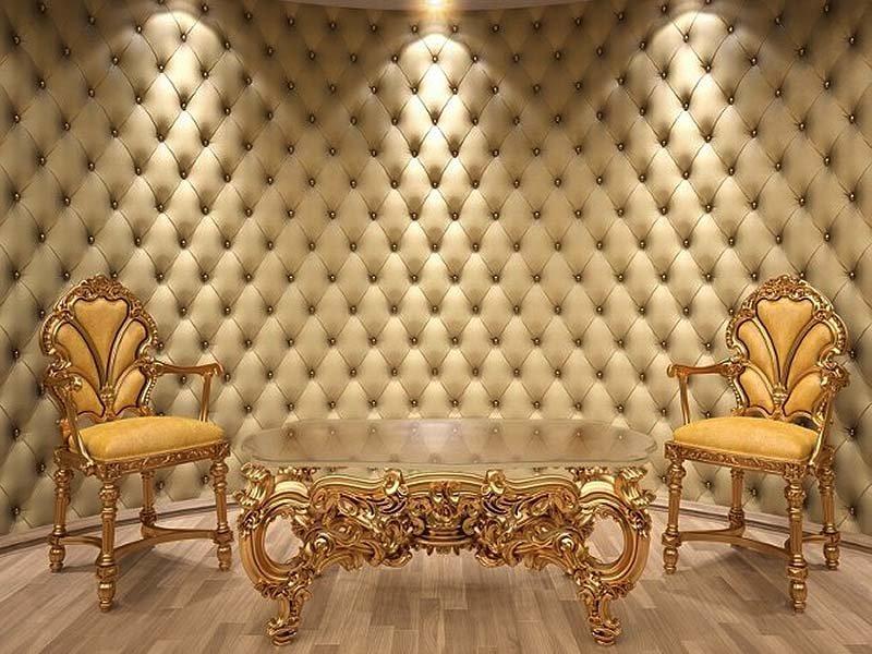 Обивка стен тканью в интерьере