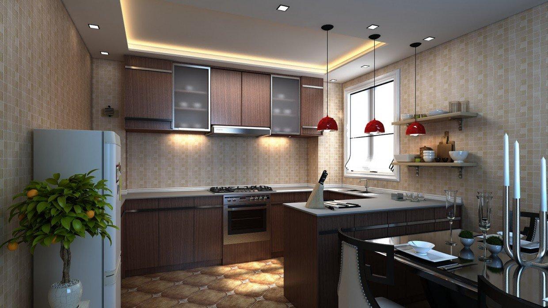 Организация пространства кухни 2 на 3