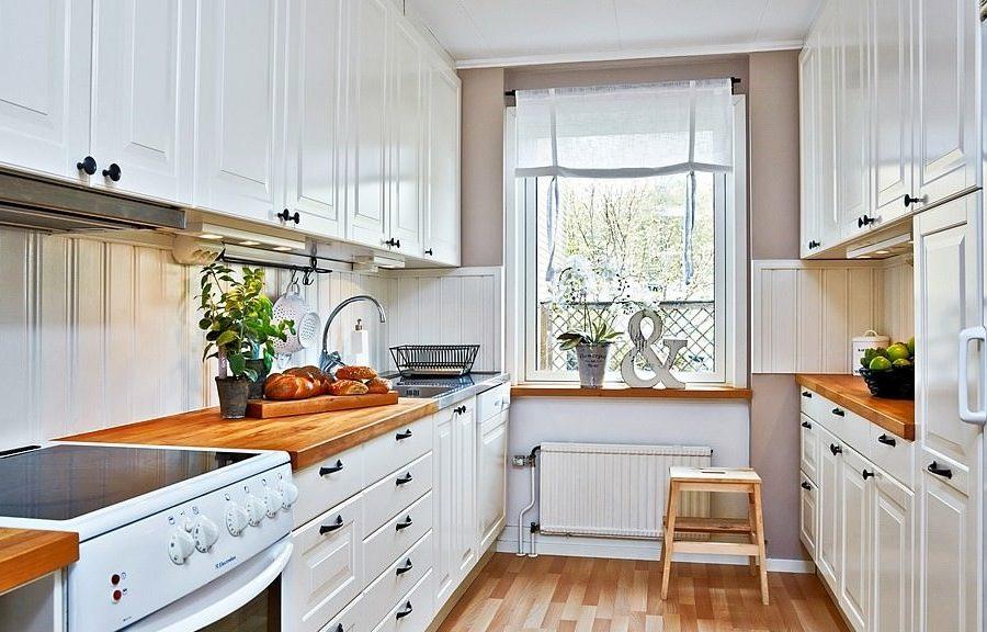Дизайн кухни 2 на 3