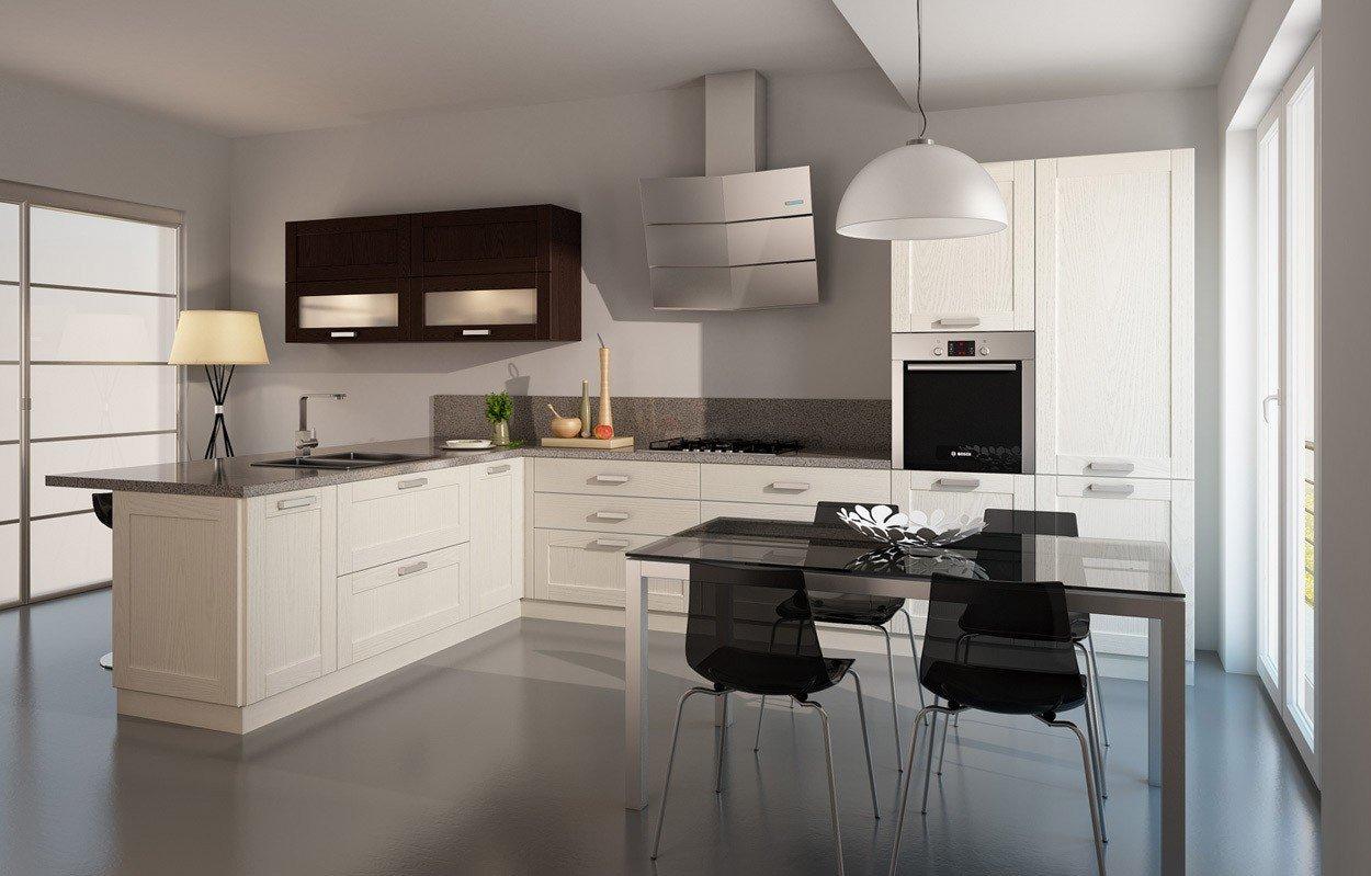 Обеденная группа на кухне в стиле модерн