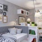 Перегородка между диваном и кроватью
