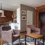 Уютные кресла в гостиной