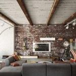 Балки в дизайне квартиры