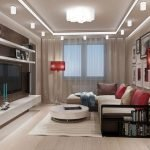 Дизайн интерьера небольшой гостиной