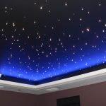 Потолок в виде звездного неба