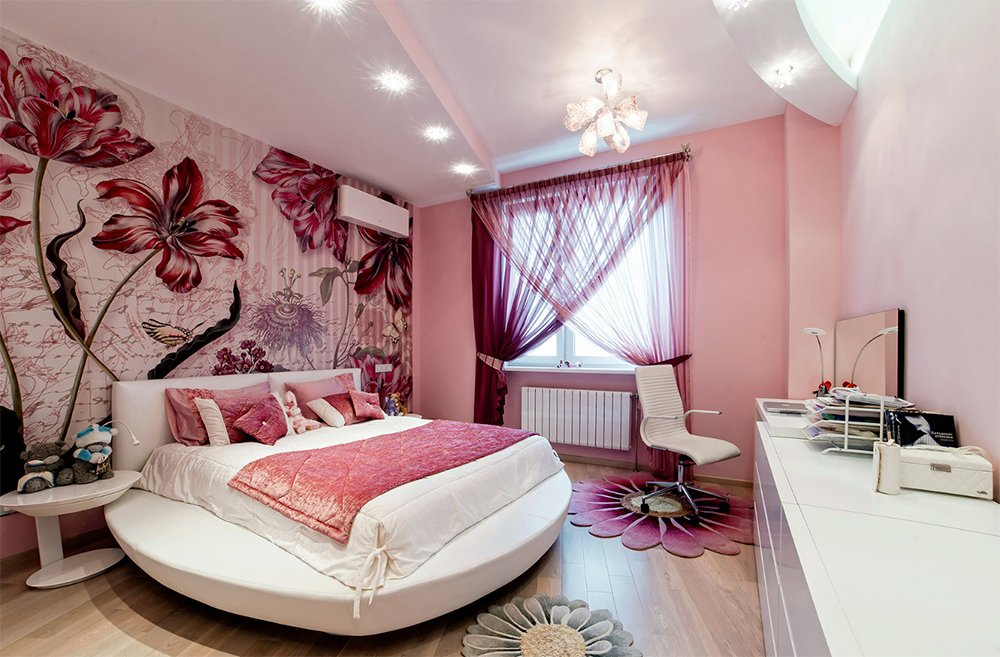 Спальня для одинокой девушки