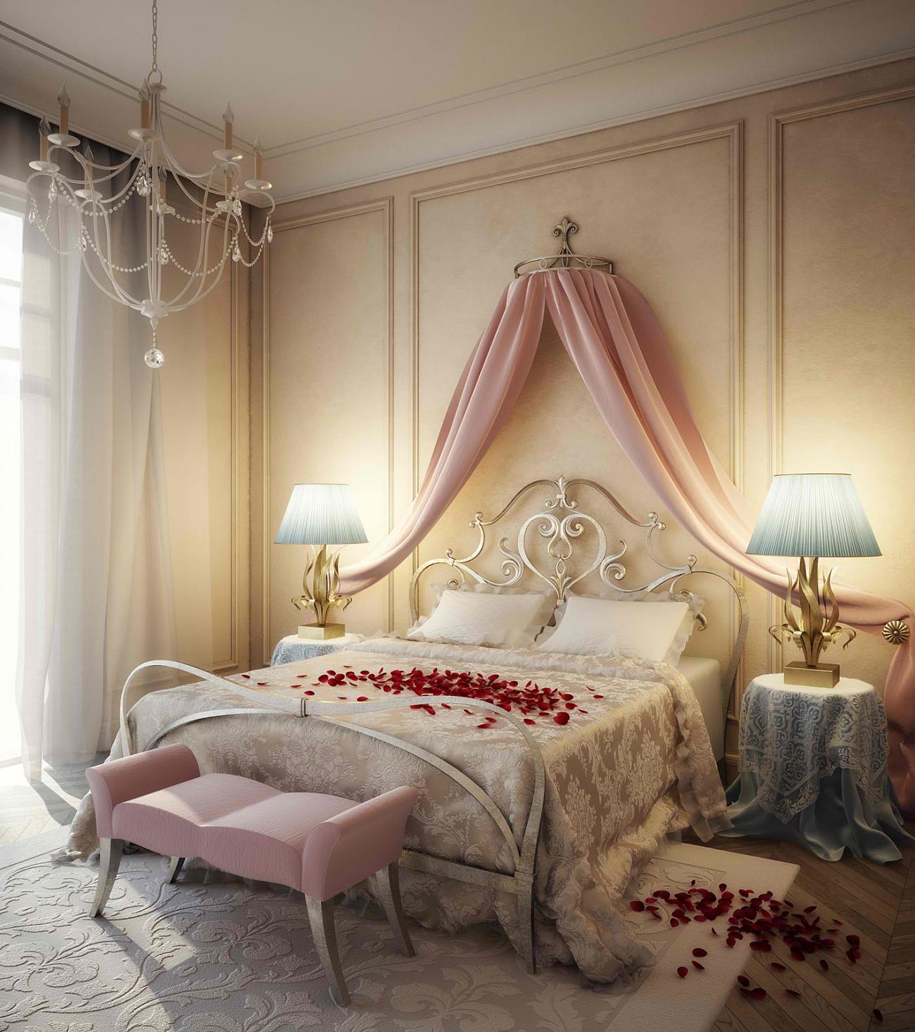Спальня для молодоженов