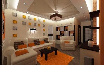Дизайн трехкомнатной квартиры 80 кв. м: примеры интерьера
