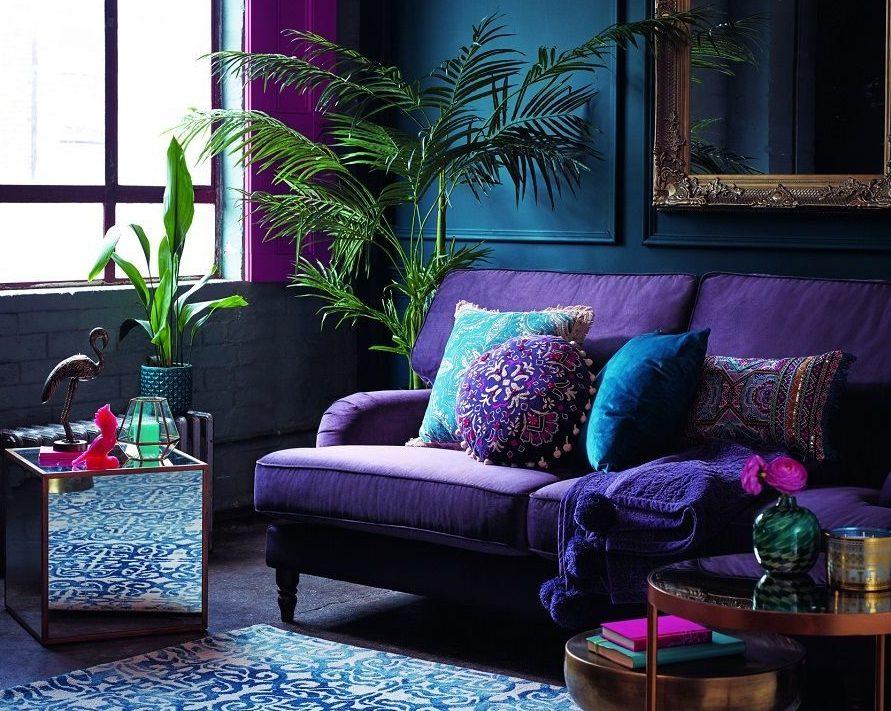 Насыщенный фиолетовый