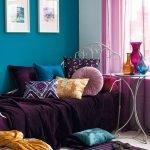 Насыщенный цвет мебели