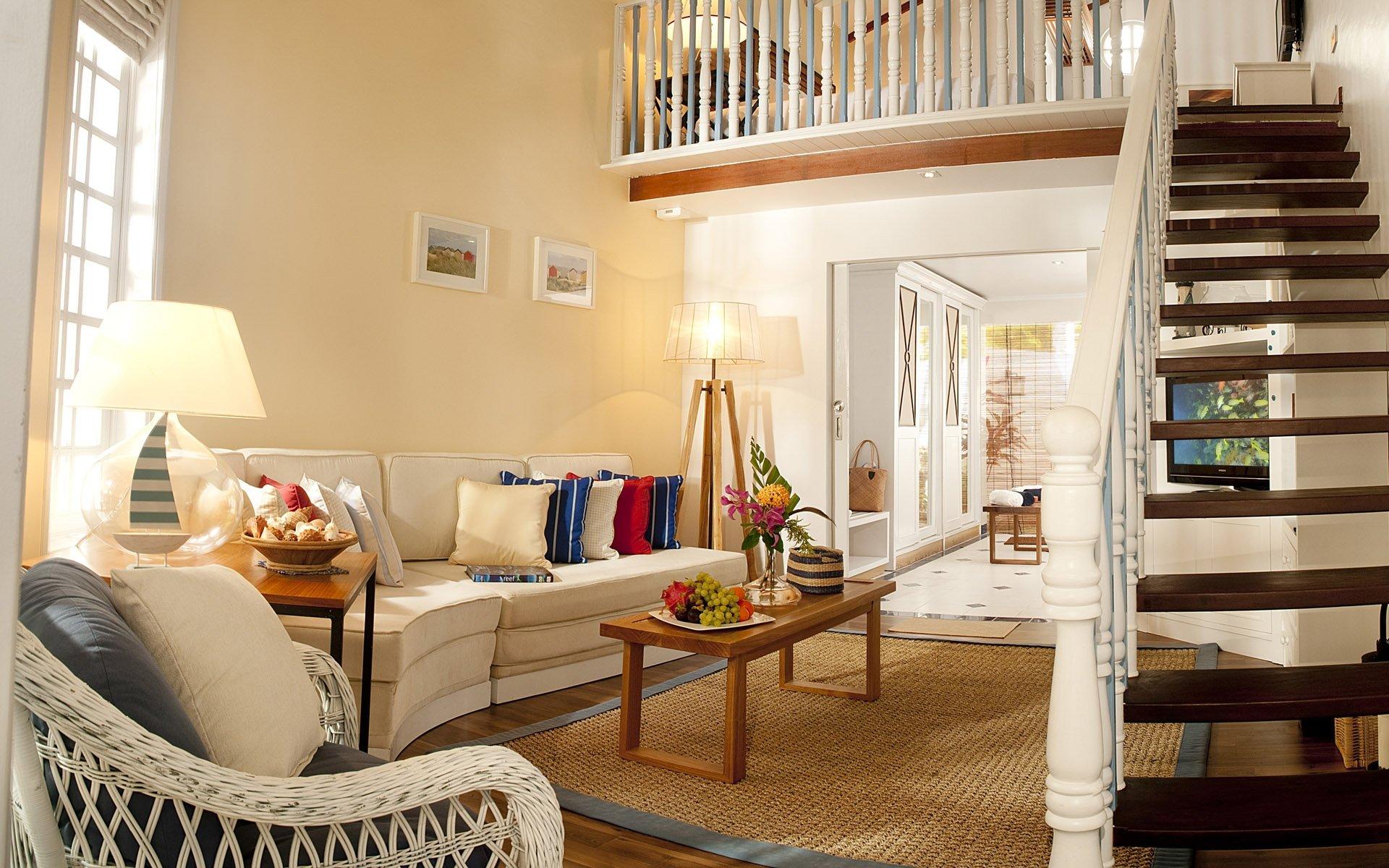 Технические требования к лестнице в гостиной