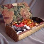 Коробка для хранения ленточек