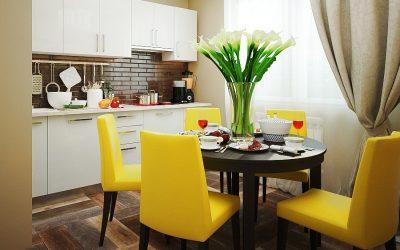 Современные кухонные столы для интерьера