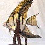 Рыбка из папье-маше