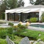 Природные камни в дизайне садового участка