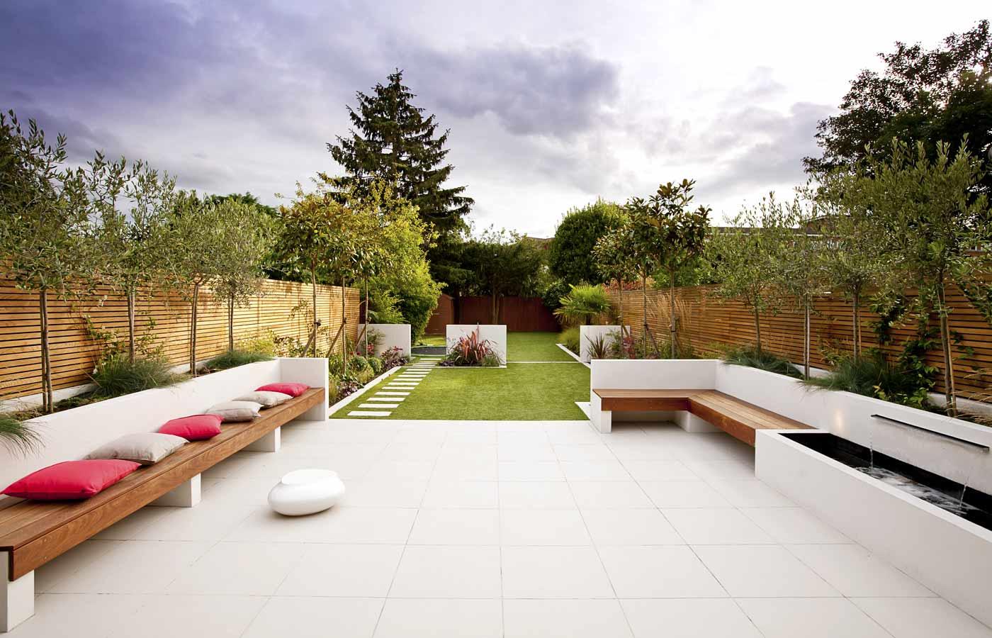 дизайн двора в частном доме фото отличие традиционного ковра