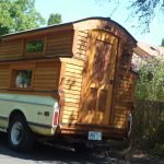 Деревянная мобильная баня