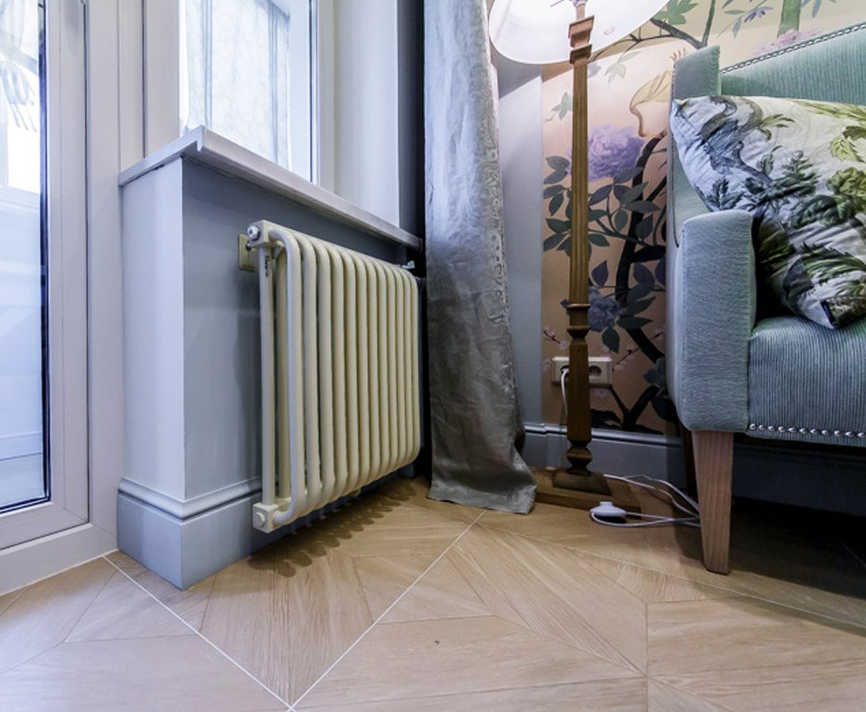 панорамная современное оформление отопления в доме фото будет мир