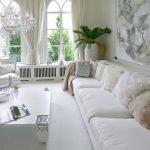 Дизайн белой комнаты