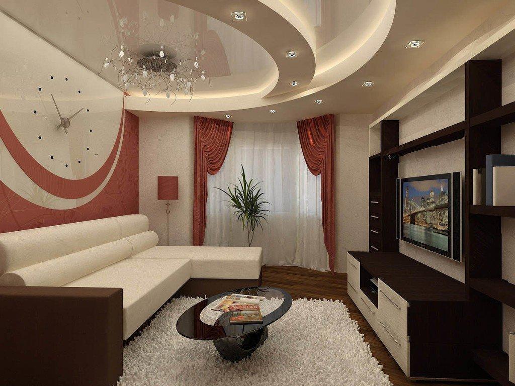 Ремонт зала квартиры в картинках