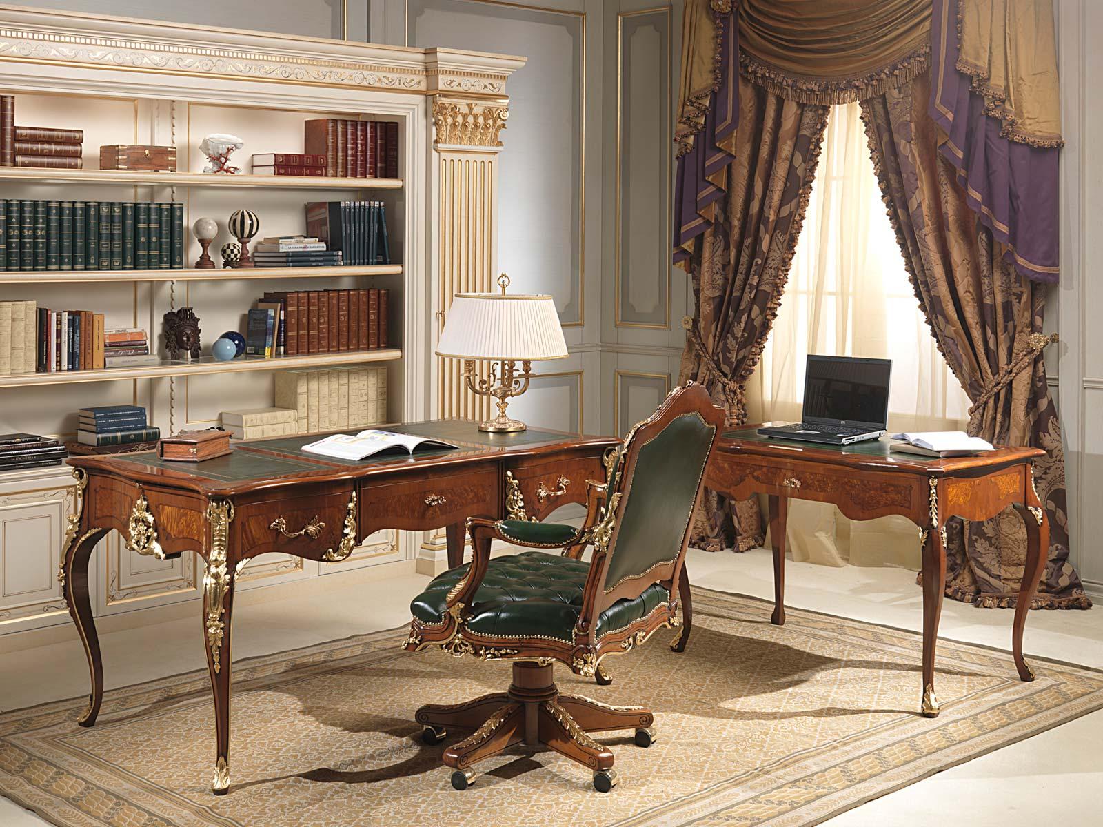 Стол в классическом интерьере